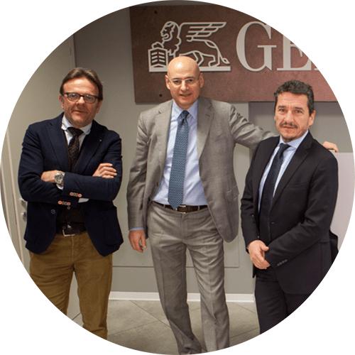 Stefano Paladin, Francesco Merlo e Maurizio Serena